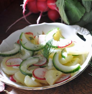 Picknick-Kartoffelsalat